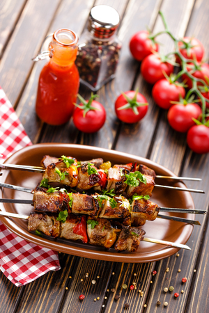 dinner menu: kebab