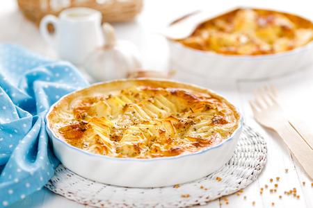 patatas: patatas gratinadas