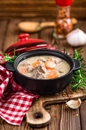 stew: meat stew Stock Photo