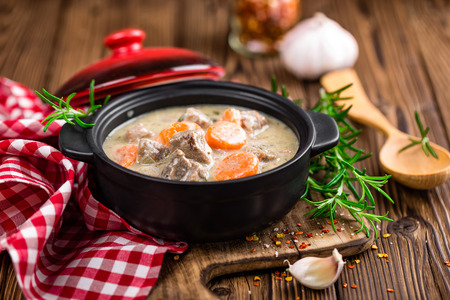 stew: meat stew Stock Photo