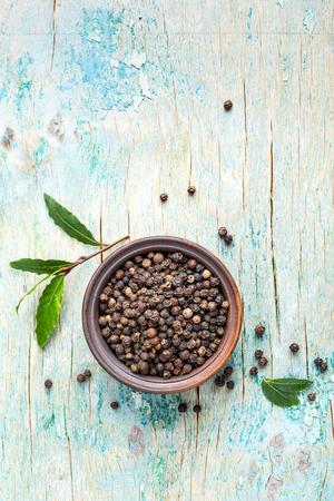 pepe nero: black pepper Archivio Fotografico