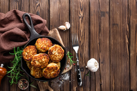cutlets: cutlets Stock Photo