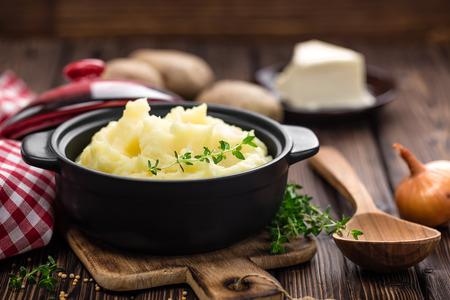 prepare: mashed potato