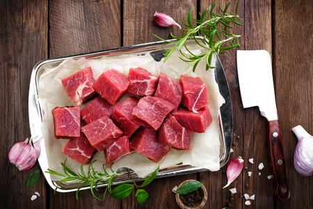 surowego mięsa wołowego Zdjęcie Seryjne