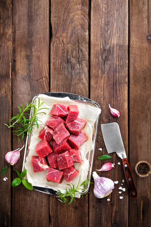 raw beef: raw beef Stock Photo