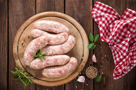 saucisse: saucisses Banque d'images