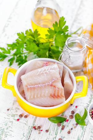 fresh fish: raw fish