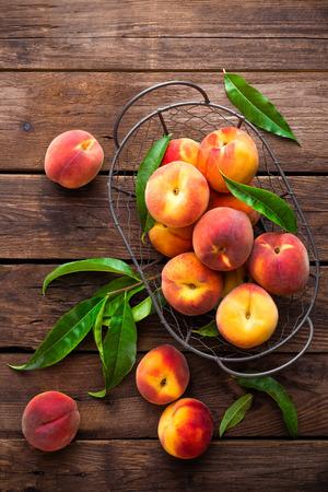 peach: peaches