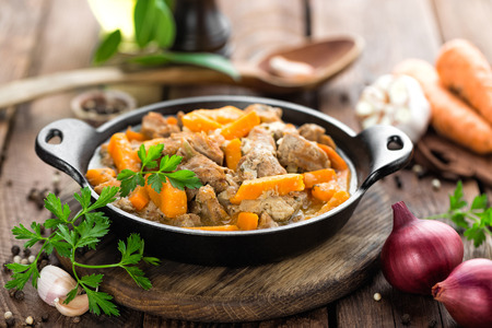 meat stew Banque d'images