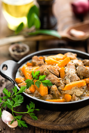 meat stew Stock Photo