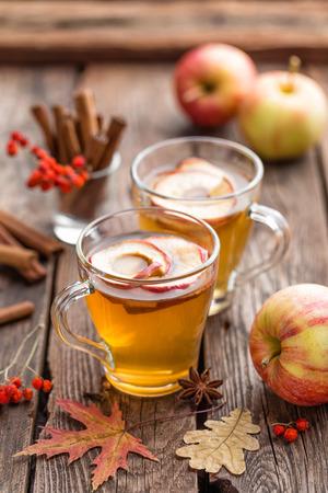 hot drink: apple cider