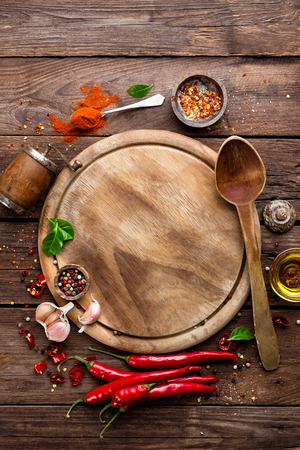 spicy cooking: culinary background