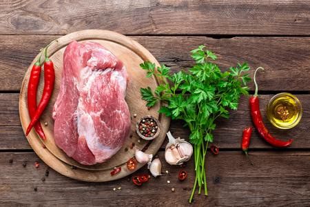 carne cruda: carne cruda