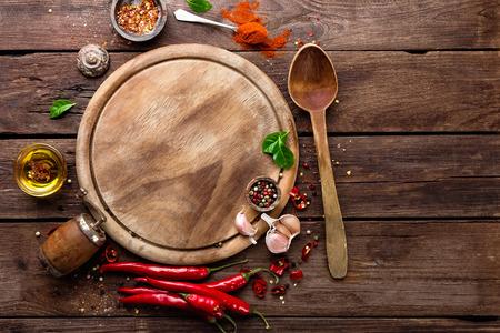 Fond culinaire Banque d'images - 65325329