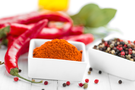 spicy cooking: ground chili