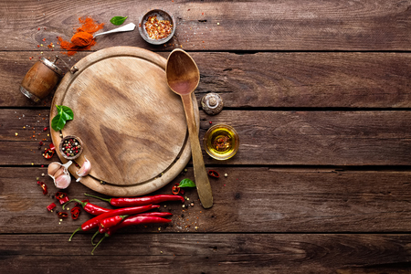 culinaire achtergrond Stockfoto