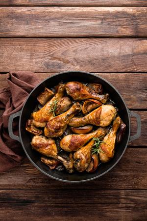 chicken, drumsticks Stock Photo