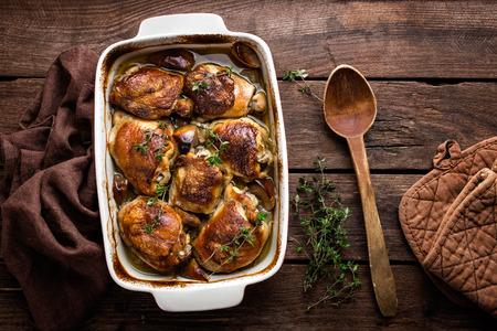 muslos: muslos de pollo
