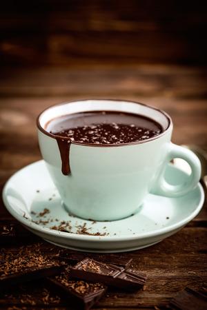 뜨거운 초콜릿 스톡 콘텐츠