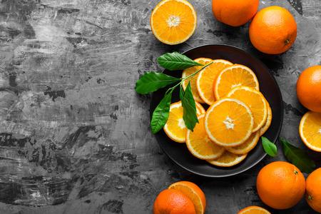 jugo de frutas: naranjas