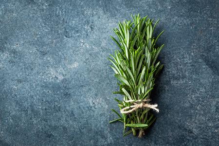 aromatic: Fresh rosemary twigs Stock Photo