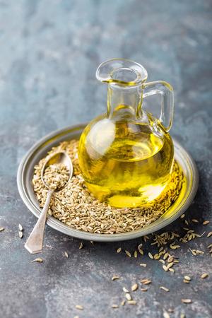 Fennel seeds oil Reklamní fotografie