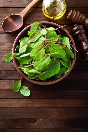 fresh leaf: Fresh mangold leaves, swiss chard or leaf beet