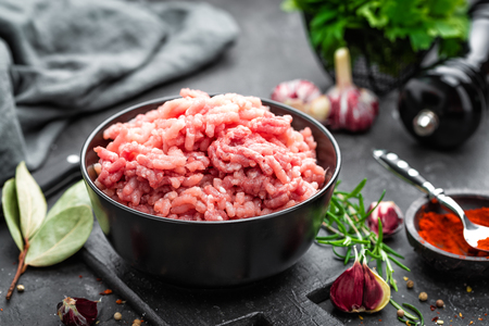 Minced meat Фото со стока - 81600357