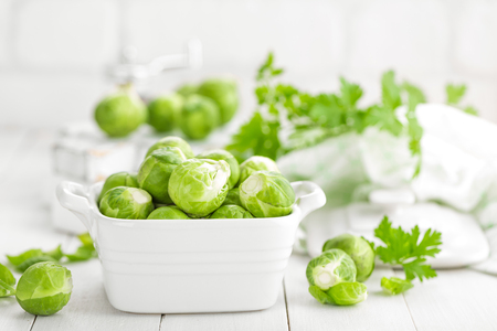 Brussels sprouts Foto de archivo