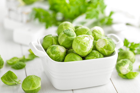 Brussels sprouts Standard-Bild