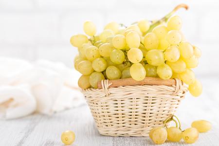 Grape on white background Stock Photo - 90544884