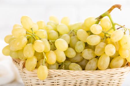 Grape on white background 免版税图像