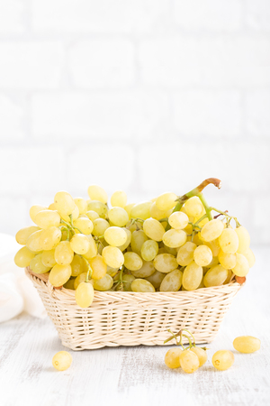 Grape on white background Stock Photo - 90544931