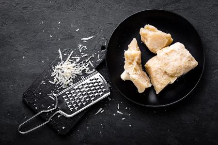 Parmesan cheese Standard-Bild