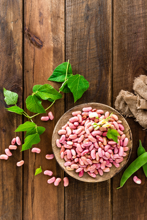 Red kidney beans. Haricot bean 写真素材