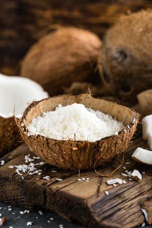 Coconut flakes Stock Photo - 110131801