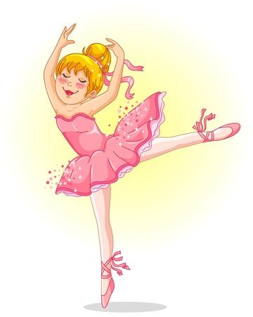 jovem bailarina