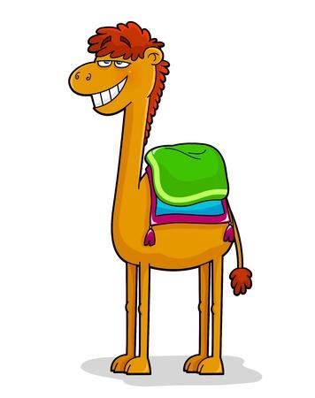 hump: Divertente cartone animato cammello