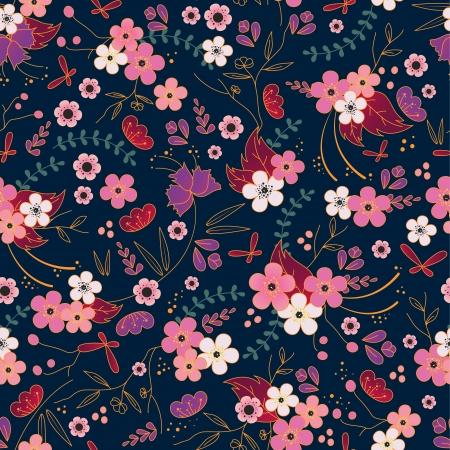 asian seamless pattern Stock Vector - 16525725