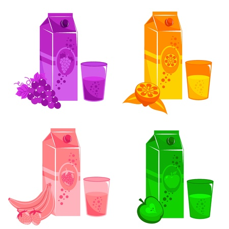 soft drinks: juices