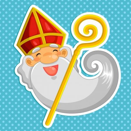 cartoon Sinterklaas  st  Nicholas