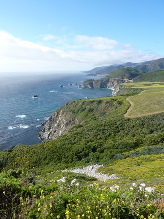 sur: Big Sur, California Stock Photo