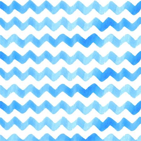 Watercolor Ocean Wave