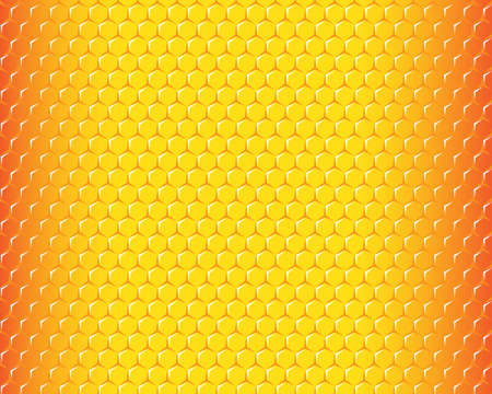 hexagonal honeycomb pattern background with text space, can be use to make wallpaper Vektorgrafik
