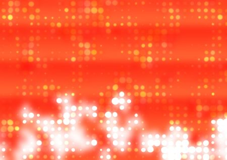 computer art: Red  Abstract Background With A Pattern From Points