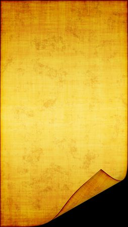 The sample of the old, turned yellow paper in stains Stock Photo - 6229931