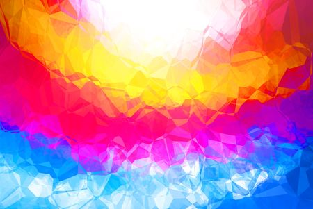 Bright multicolor abstract background with a pattern Stock Photo - 6402424