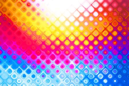 Bright multicolor abstract background with a pattern Stock Photo - 6402452