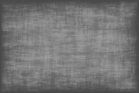 Abstract grey background in the form of a grid in a grunge style photo