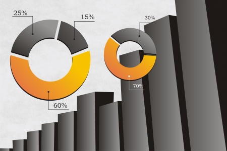 managment: analitic graph illustrations